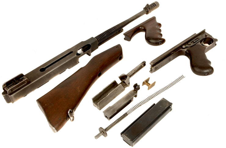 Deactivated Old Spec WWII Thompson 1928A1 Auto Ordnance