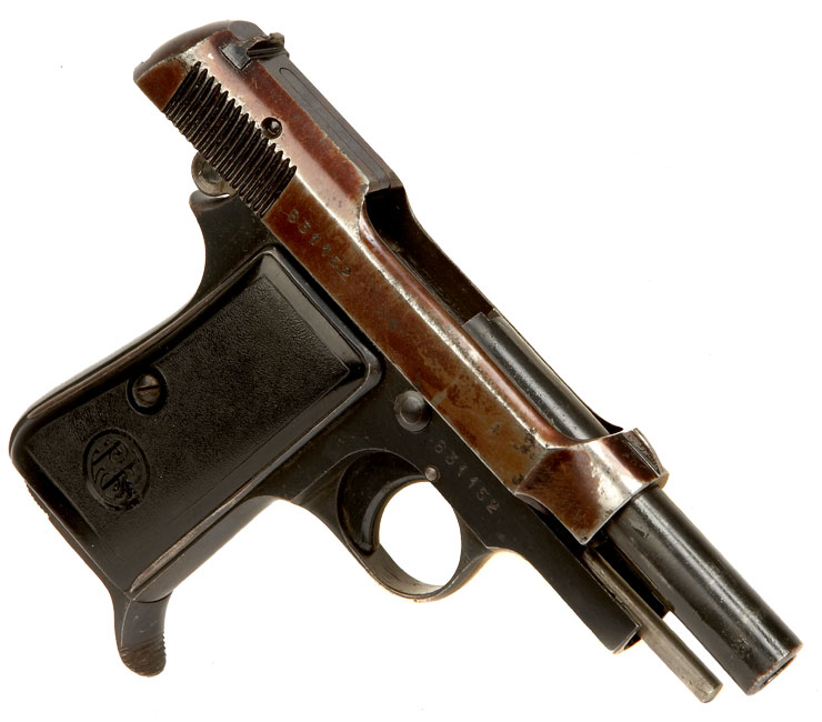 Deactivated WWII Beretta Model 1934