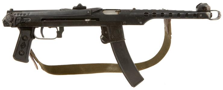 russian ww2 machine gun