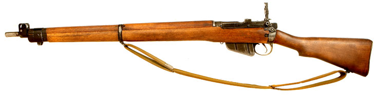 Deactivated WWII Lee Enfield No4 MKI Rifle