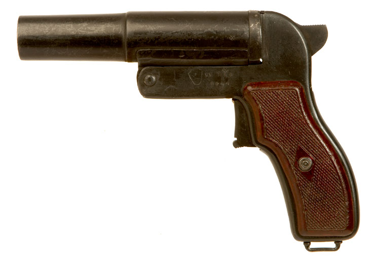 Deactivated WWII Russian M44 Flare Pistol