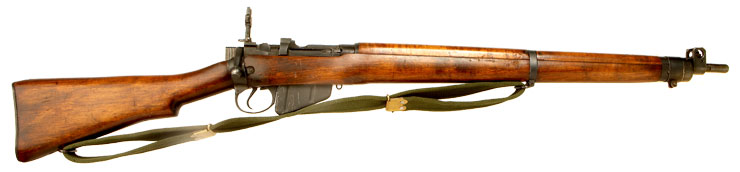 Deactivated WWII Lee Enfield No4 MKI* Long Branch 1944