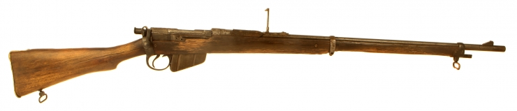 Deactivated WWI Charger Loading Lee Enfield Rifle