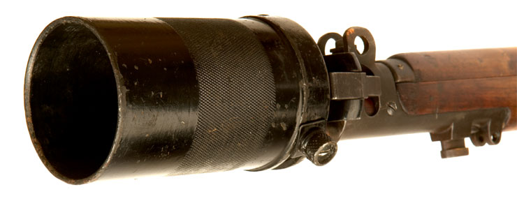 Deactivated SMLE Grenade Launcher Attachment