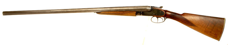 Deactivated Czech Double Barrel Shotgun