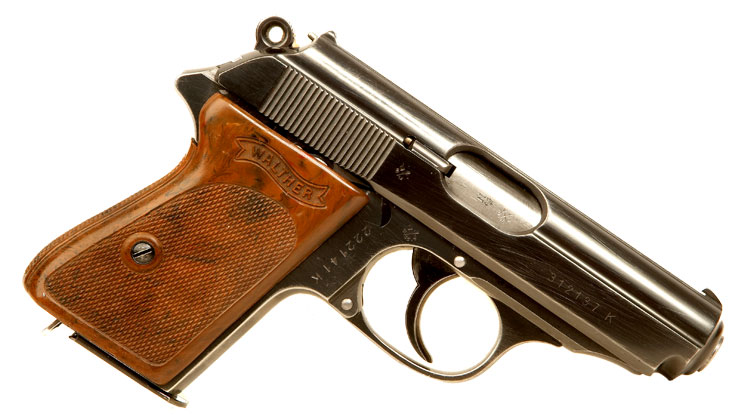 Just Arrived, Deactivated RARE WWII Engraved Walther PPK Pistol