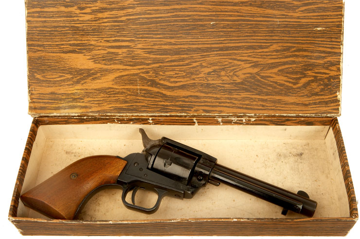 Herbert Schmidt Model 21 Blank Fire Revolver - Modern Deactivated