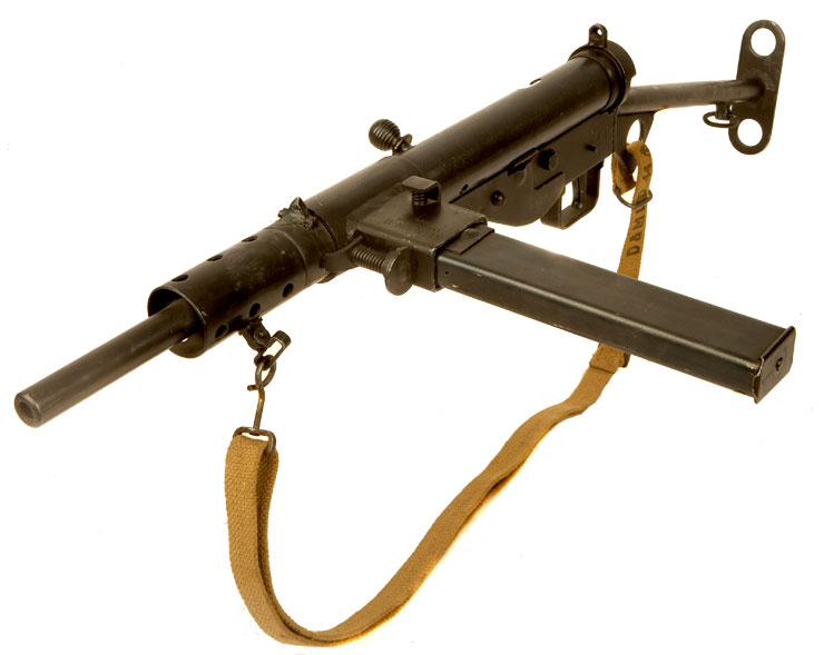 Just Arrived, Deactivated WWII Long Branch Sten MKII