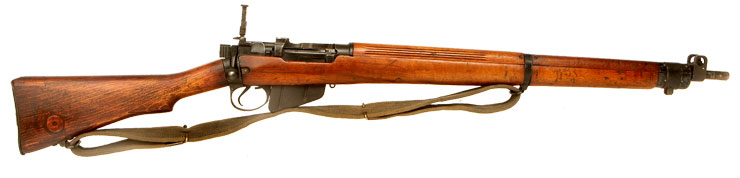 Deactivated WWII British Lee Enfield No4 MKI - Maltby 1943