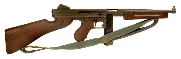 Deactivated WWII Lend Lease Thompson M1A1 SMG