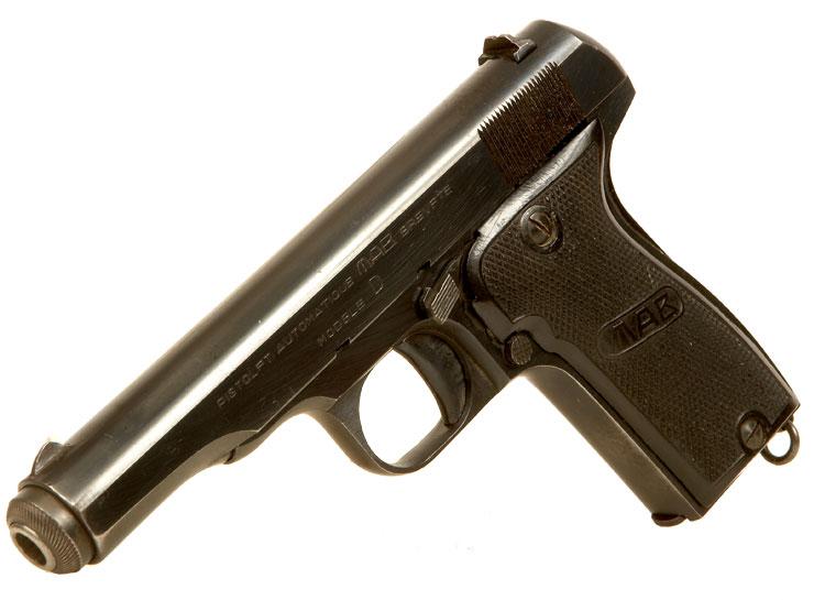 Deactivated OLD SPEC MAB Pistol Model D - Modern Deactivated