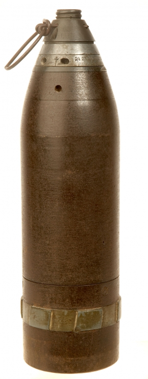 An Excellent Condition Inert WWI German Army Minenwerfer 7.58cm Mortar Round