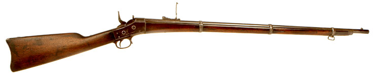 Very Rare US Remington Rolling Block Rifle Issued to New York State Militia
