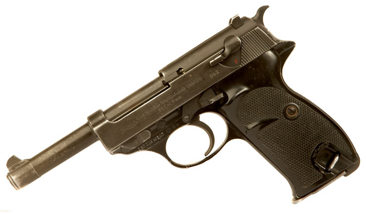 Deactivated Cold War Walther P1