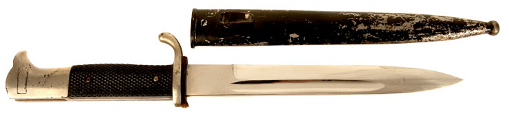 WWII Nazi Dress Bayonet & Scabbard
