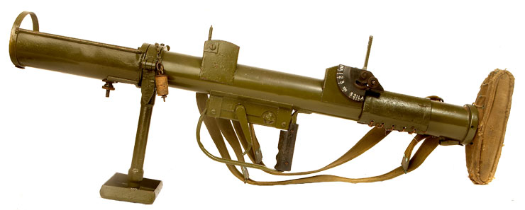 Deactivated Wwii British Piat With Accessories Allied