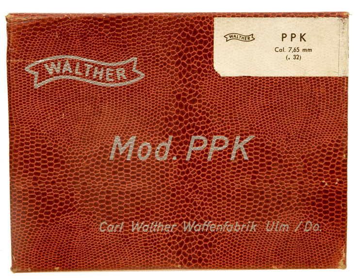 A Walther PPK Box