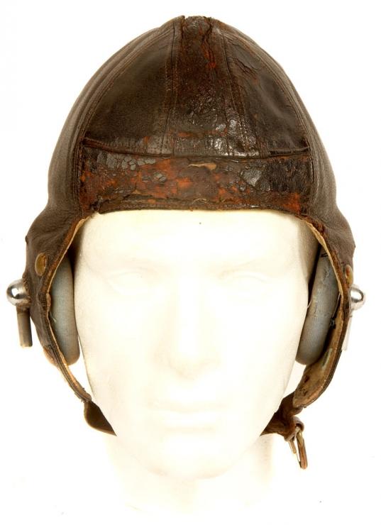 WWII Era British RAF B Type Helmet - Militaria