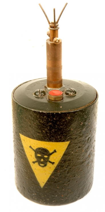 Inert WWII S-Mine or Bouncing Betty