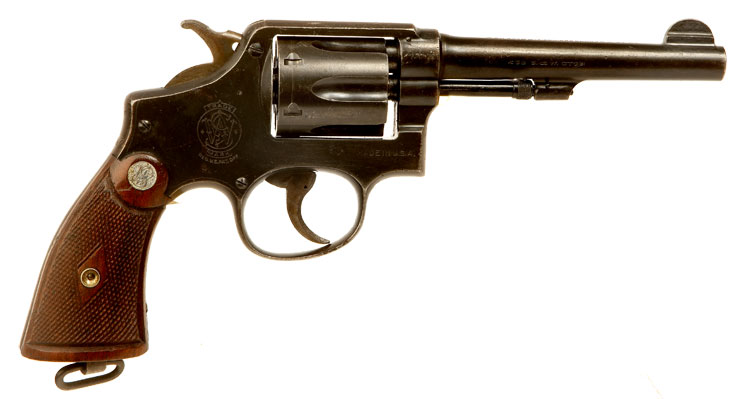Deactivated WWII Lend Lease Smith & Wesson .38 M&P Revolver