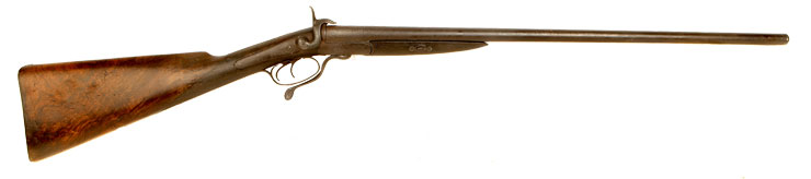 Obsolete Calibre William Powell Double Barrel Shotgun