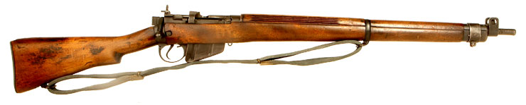 WWII Lee Enfield No4 MKI* Rifle
