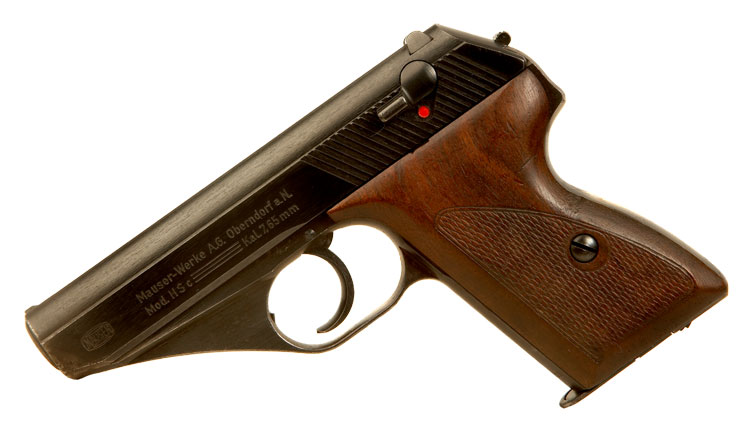 Deactivated WWII Mauser Hsc - Three Line Variant