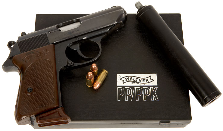 Deactivated Boxed Walther PPK with Silencer - Modern ...
