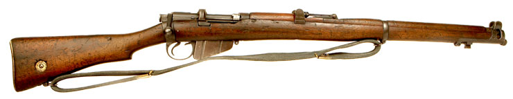 RARE Deactivated British Naval Service Marked WWI SMLE MKIII Rifle