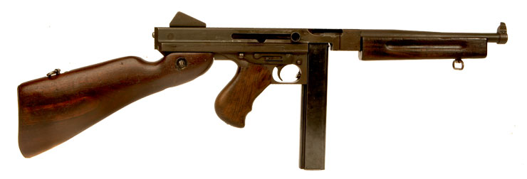 Just Arrived, Deactivated WWII US Thompson M1A1