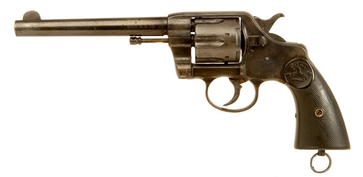 Deactivated Colt New Army & Navy Model, .38 DA revolver