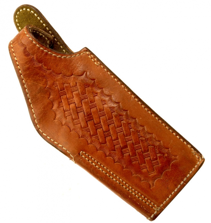 US made Safariland, Monrovia, California Browning 9mm Auto pistol holster