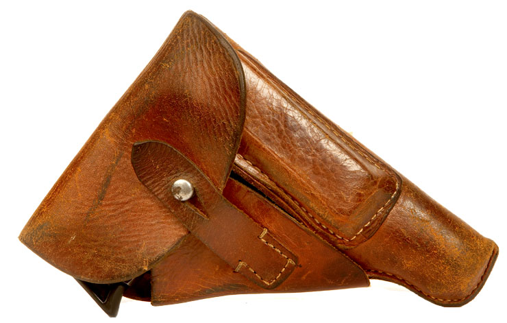 WWII era German Walther PP leather holster