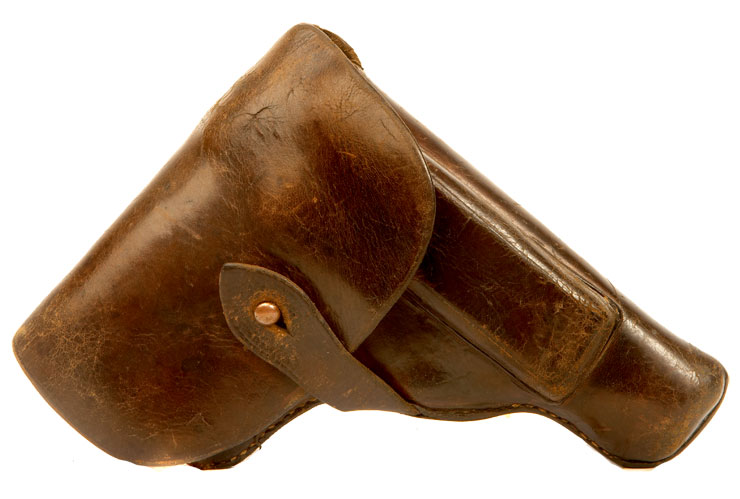 WWII era German Pistol leather holster