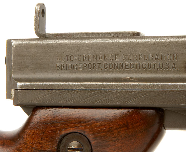 Deactivated WWII Thompson M1 Submachine Gun - Allied Deactivated