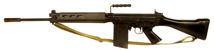 Just Arrived, Deactivated Argentine FN FAL