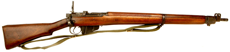 Deactivated WWII Lead Lease Lee Enfield No4 MKI* .303 Rifle