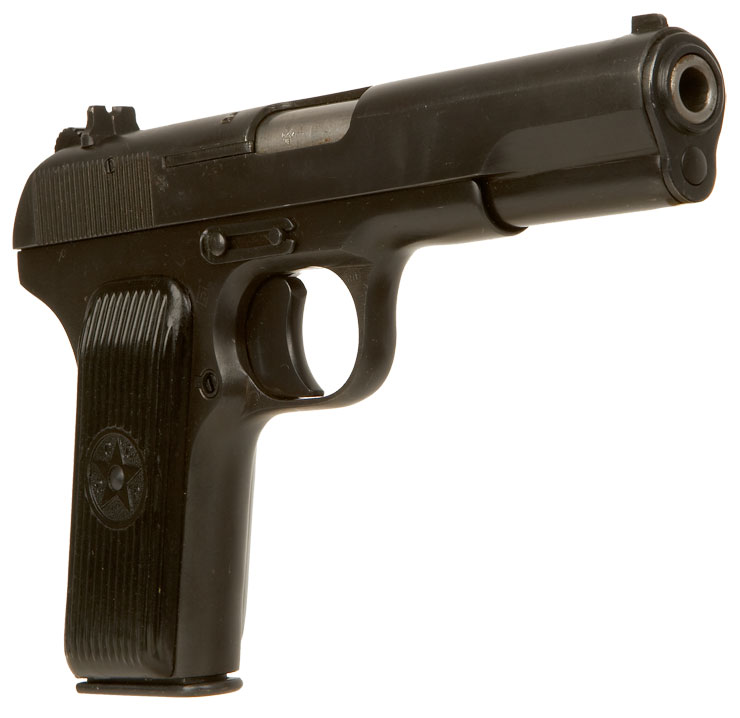 Deactivated Russian Tokarev T33 Pistol Modern