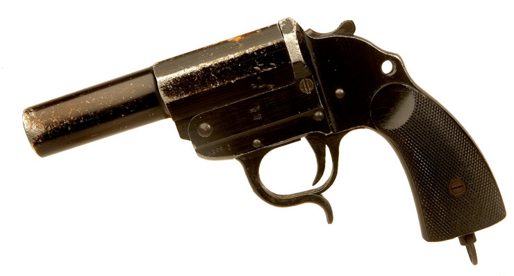 Deactivated WWII German Flare Pistol