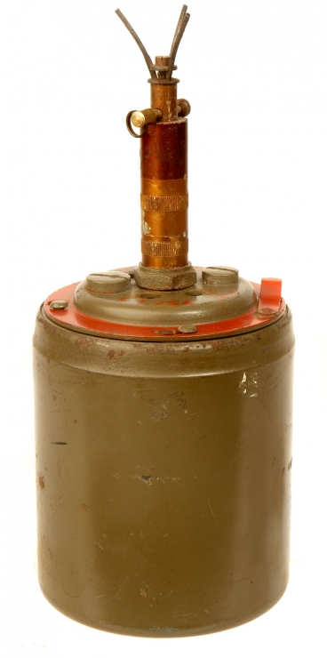 Inert Czechoslovakian PPMi-Sr-11 Anti-Personnel Bounding Mine