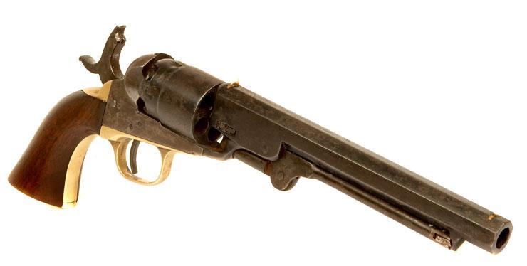 us civil war era colt 1862 pocket navy percussion revolver