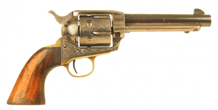Jager Dakota Model 1873 Blank Firing Revolver