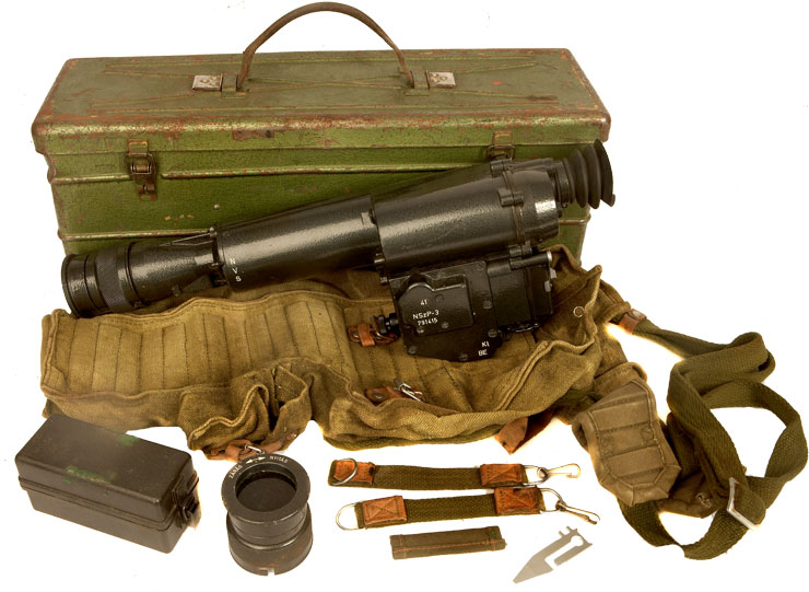 Cold War Era Dragunov NSZP-3 Night Vision Image Intensifier