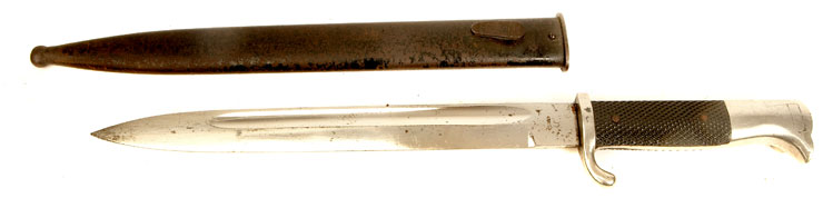 WWII German K98 Dress Bayonet with scabbard