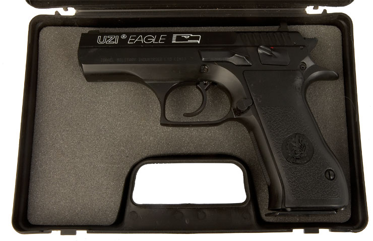 Deactivated IMI Uzi Eagle 9mm Pistol - Modern Deactivated