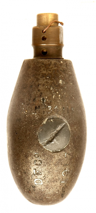 Inert 1917 Dated British No34 MKIII Egg Grenade