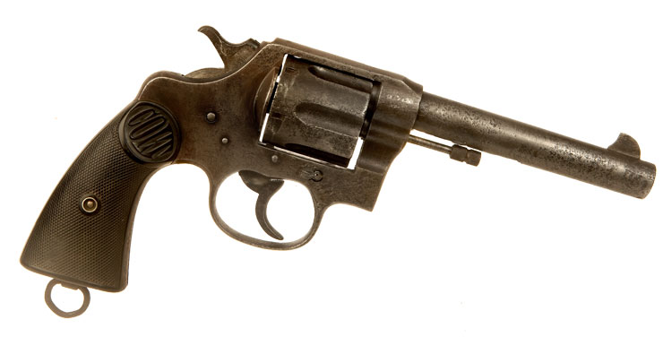 Deactivated WWI British Issued Colt Eley New Service .455 Revolver