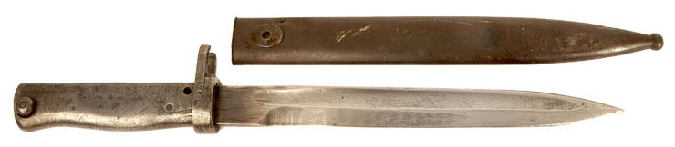 WW1 German Ersatz Bayonet with Nazi Scabbard