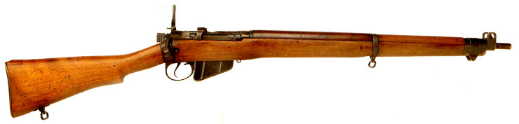 Deactivated WWII Lend Lease Lee Enfield No4 Rifle