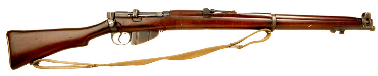 Deactivated WWII SMLE No1 MKIII* Rifle